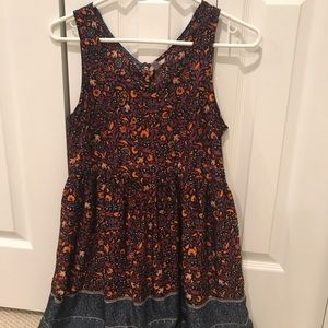 🌼2 FOR 10🌼Urban Outfitters Patterned Sun Dress